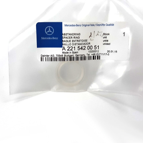 221 542 00 51 주차센서링 Parktronic Sensor Spacer Ring - BENZ 2215420051